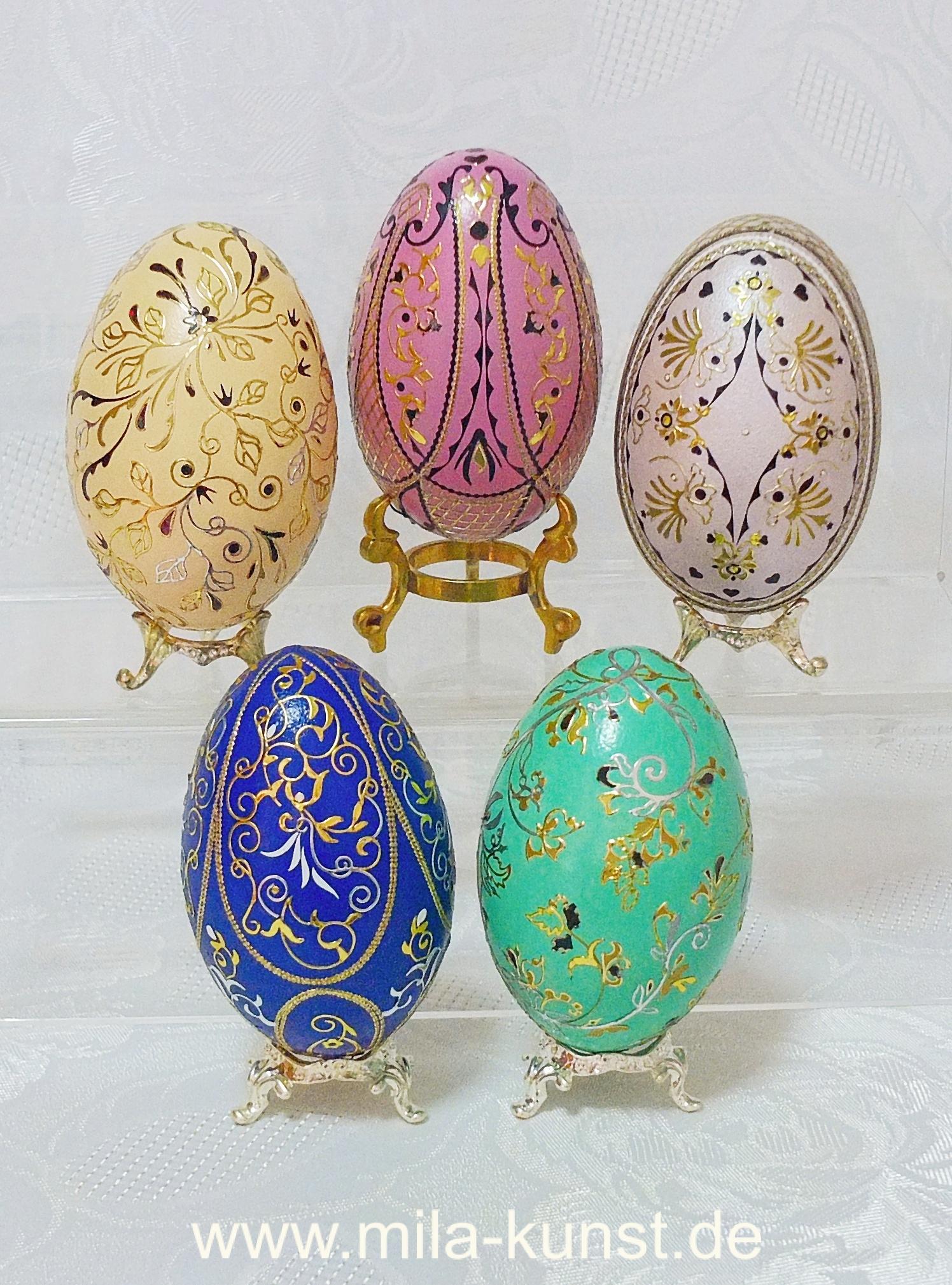 Arabesken auf Ei - Eiergruppe 2020